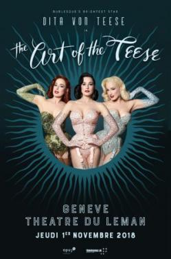 affiche Dita Von Teese - 'The Art of the Teese' Burlesque Revue