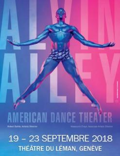 affiche Alvin Ailey - American Dance Theater