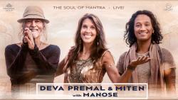 affiche Deva Premal & Miten avec Manose