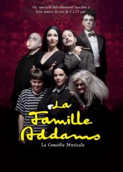 affiche 'La Famille Addams'
