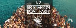 affiche Reggaeton Boat Party