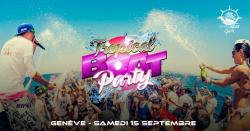 affiche Tropical Boat Party