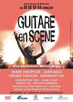 affiche 13ème Festival GUITARE EN SCÈNE