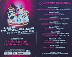 affiche Les Musicales 2019 - Ma Family
