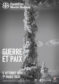affiche Exposition 'Guerre et Paix'