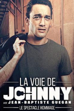 affiche Jean-Baptiste GUÉGAN - La voix de Johnny