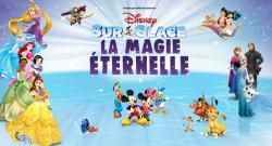 affiche Disney sur Glace 'La magie éternelle'