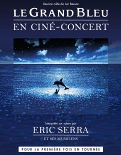 affiche 'Le Grand Bleu' en ciné-concert