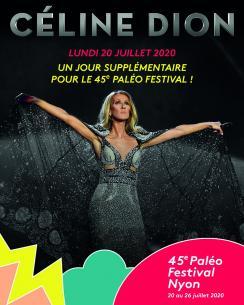 affiche Céline DION à Paléo