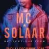 affiche MC Solaar - Géopoétique Tour