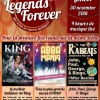 affiche Legends Forever - ABBA Mania, The King is back, The Rabeats