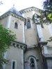 La chapelle, vue d'en-dessous