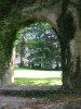 Entrée du Parc, vue vers le château