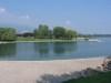 Le lac (côté rue du Port)