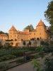 Château au coucher de soleil