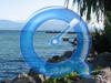 Pano 360° [1,6Mo] depuis les quais: le château, l'île de la Harpe, la promenade de Belles-Lettres, le port...