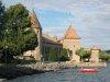 Le château, vu du bord du lac