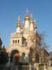 L'Eglise Russe, église Orthodoxe de Genève.