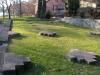 Les restes de l'église de Saint Jean