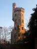 La Tour de Champel, vestige de l'établissement de bains des bords de l'Arve. De nombreuses personnalités sont venues faire des cures ici à la fin du XIXème, début XXème.