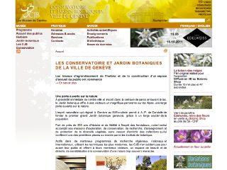 thumb Conservatoire et Jardin botaniques de la Ville de Genève