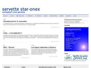 thumb Servette Star - Onex Volleyball Club