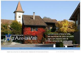 thumb Site officiel de la commune de Aïre La Ville