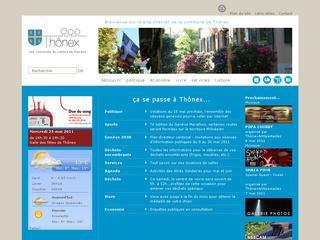 thumb Site Officiel de la commune de Thônex