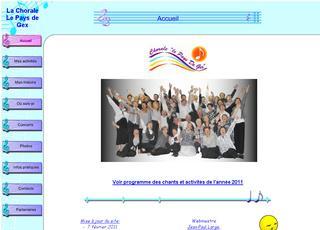 thumb Chorale Le Pays de Gex