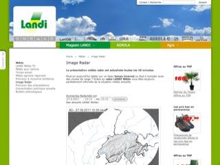 thumb LANDI - Image radar