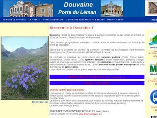 thumb Site officiel de la commune de Douvaine