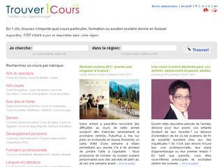 thumb TrouverUnCours - Annuaire de cours et formations