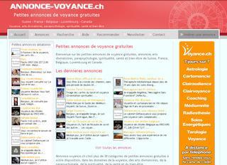 thumb Annonces-Voyance.ch - Petites annonces gratuites voyance et bien-être
