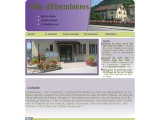 thumb Site officiel de la Mairie d'Etrembières