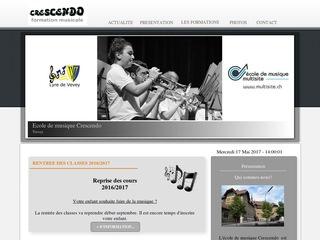 thumb Ecole de musique Crescendo