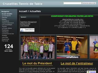 thumb Cruseilles Tennis de Table