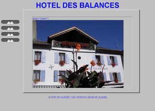 thumb Hôtel des Balances ***