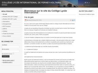 thumb Lycée collège international de Ferney-Voltaire